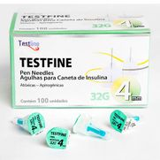 Agulhas-p--Caneta-de-Insulina---TestLine---32g-4mm-100un