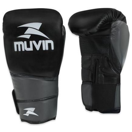 luva-de-boxe-warrior-bx-cinza