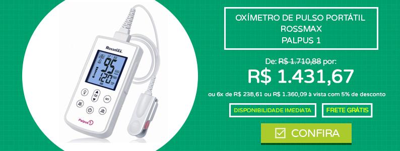 Oxímetro de Pulso Portátil - Rossmax - Palpus 1