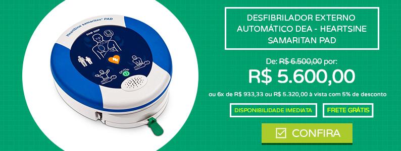 Desfibrilador Externo Automático DEA - HeartSine - Samaritan