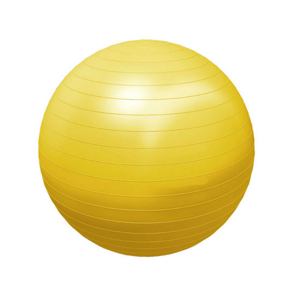 a224875694 Bola Suiça p  Ginástica e Pilates - Supermedy - Tamanho 55cm Amarelo -  CenterMedical
